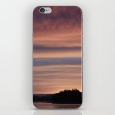 Frozen Sunset 4 - Pale Light iPhone & iPod Skin
