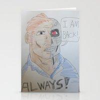 Bootleg Series: Cyborg Future Guy Stationery Cards
