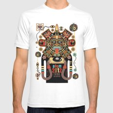 Mayas Spirit - Boom 2012 Mens Fitted Tee White SMALL