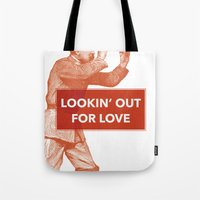 Looking Out For Love Tote Bag