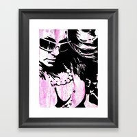 Trying Our Best To Feel … Framed Art Print