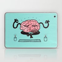 Train Your Brain Laptop & iPad Skin