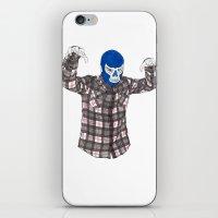 Lumberjack Jack iPhone & iPod Skin