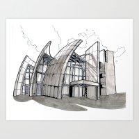 Jubilee Church Art Print