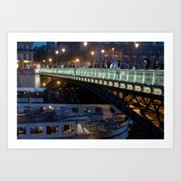 Paris by Night III Art Print