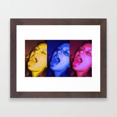 Crazy Central Framed Art Print