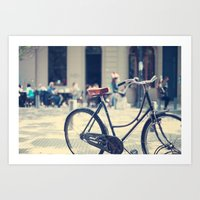 Retiro Bike Art Print