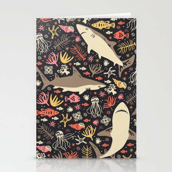 Oceanica Stationery Card