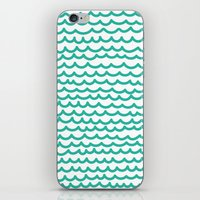 Squiggly Hand Drawn Line… iPhone & iPod Skin