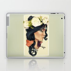 Bohemian Girl Laptop & iPad Skin