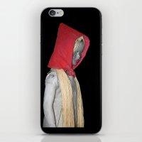 cappuccetto rosso iPhone & iPod Skin
