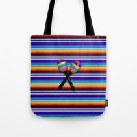 Mexican Stripes Tote Bag
