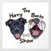 Harry Banks Show Art Print