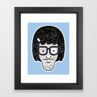 My Heart Just Pooped Its Pants Framed Art Print