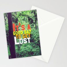 It's a Good Day To Get Lost Stationery Cards