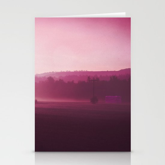 MISTY MORNING Stationery Card