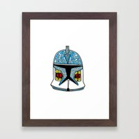 Celtic Clone Trooper Framed Art Print