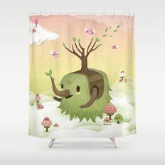 Mossiphants Shower Curtain