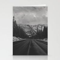 December Road Trip in the Pacific Northwest Stationery Cards