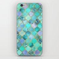 Cool Jade & Icy Mint Dec… iPhone & iPod Skin