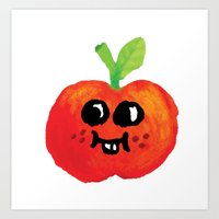 Apple Cutie Art Print