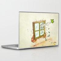 apple Laptop & iPad Skins featuring Apple! by Pepan