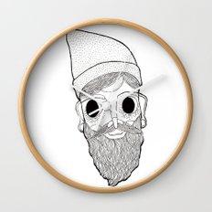 Beard Man Wall Clock