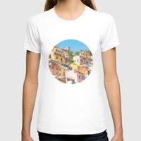 italy T-shirts featuring Italy by Giorgio Fochesato