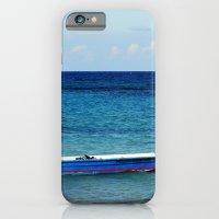 Blue Boat Red Stripe In … iPhone 6 Slim Case