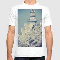Wat Rong Khun Mens Fitted Tee White SMALL