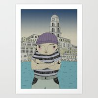 The Fisherman Art Print