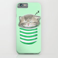 Cat in the Pocket Slim Case iPhone 6s