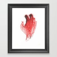 Sinapsy Two Framed Art Print