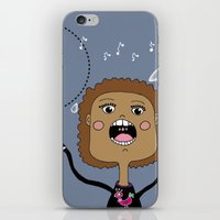 Le chanteur iPhone & iPod Skin