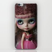 Pink Custom Blythe Darling Diva Art Doll iPhone & iPod Skin