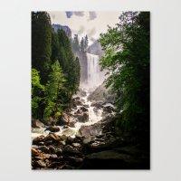 Yosemite Waterfall Canvas Print