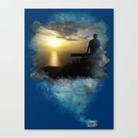 Divine Capture Canvas Print