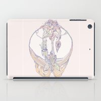 coral orchid iPad Case
