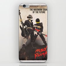 Mad Punk / A tribute to Daft Punk iPhone & iPod Skin