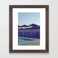 In love with summer... Framed Art Print