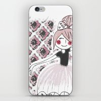Little dancer iPhone & iPod Skin