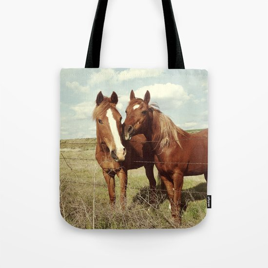 Horse Affection Tote Bag
