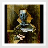 Marie de Medici V1 - Bronzino Art Print