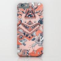 iPhone & iPod Case featuring Lif Skogur by uberkraaft