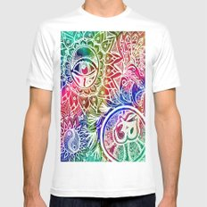 Serenity Redefined White SMALL Mens Fitted Tee