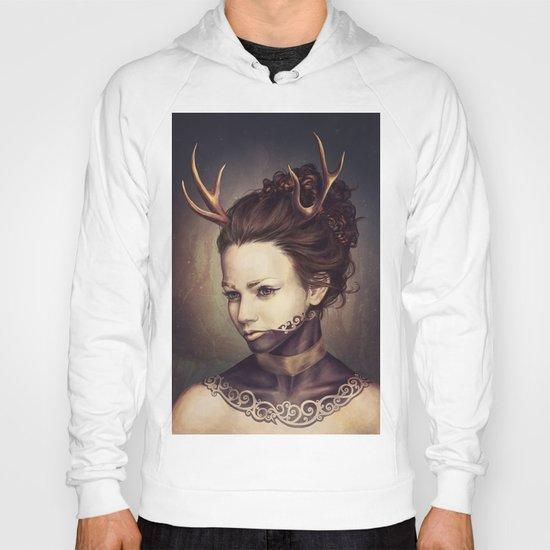 Portrait of a Deer Hoody