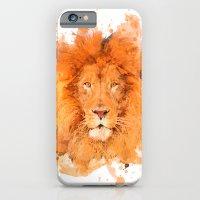 Splatter Lion iPhone 6 Slim Case