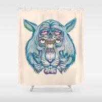 Nemean Lion Shower Curtain