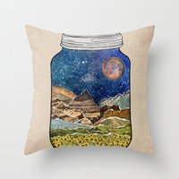Star Jar Throw Pillow