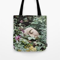 Resting Intuition Tote Bag